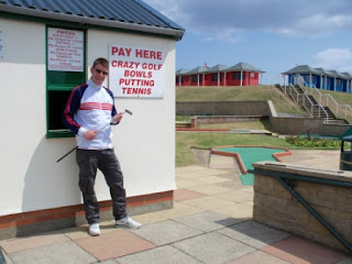 Crazy Golf course in Mablethorpe, Lincolnshire