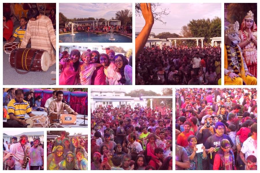 Holi 2014 at the American Ashram of Jagadguru Kripalu Ji Maharaj Radha Madhav Dham