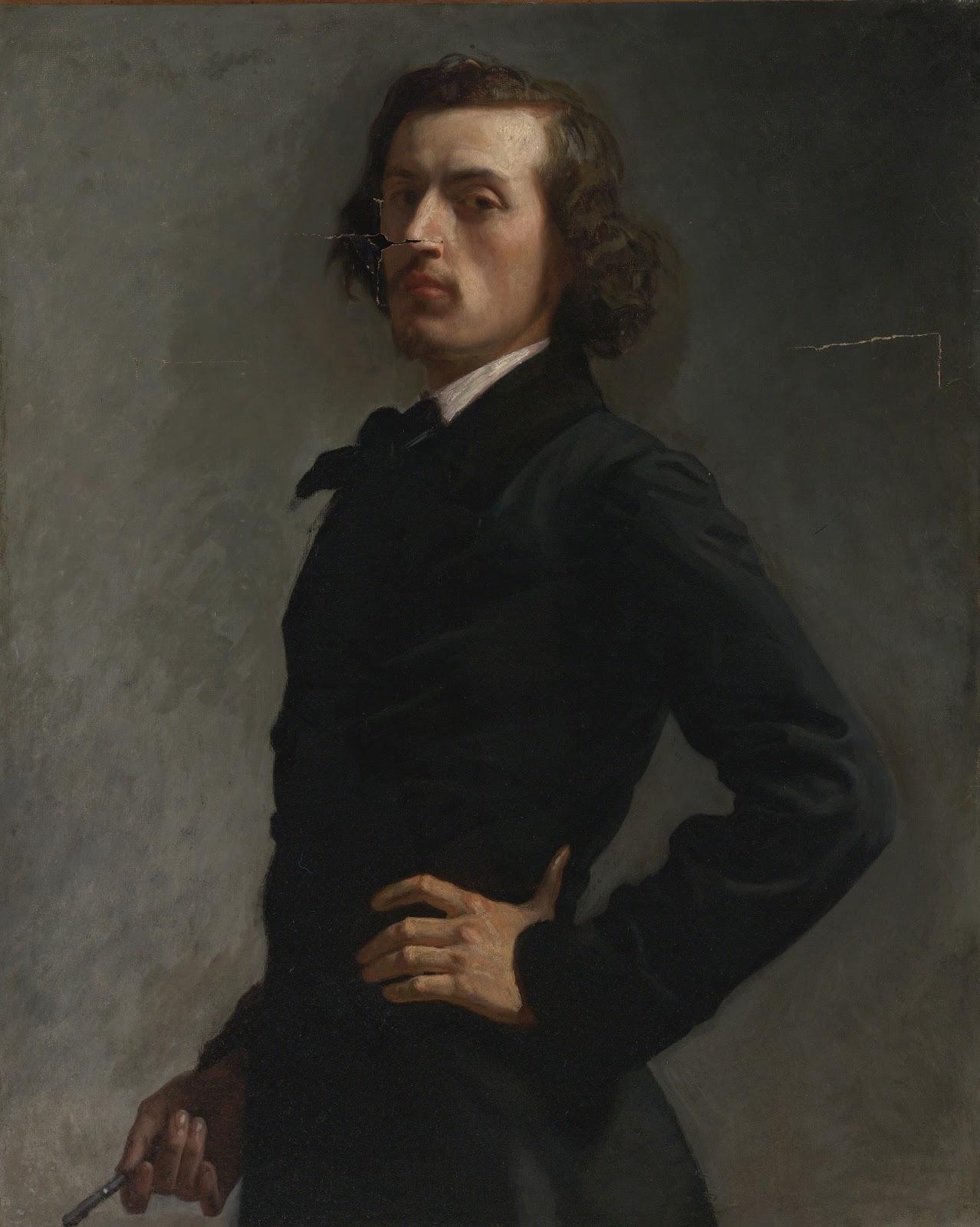 Leon  onnat Portrait of Monsieur Allard