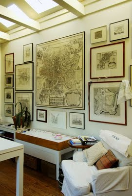 Design Plus You Decorating With Maps