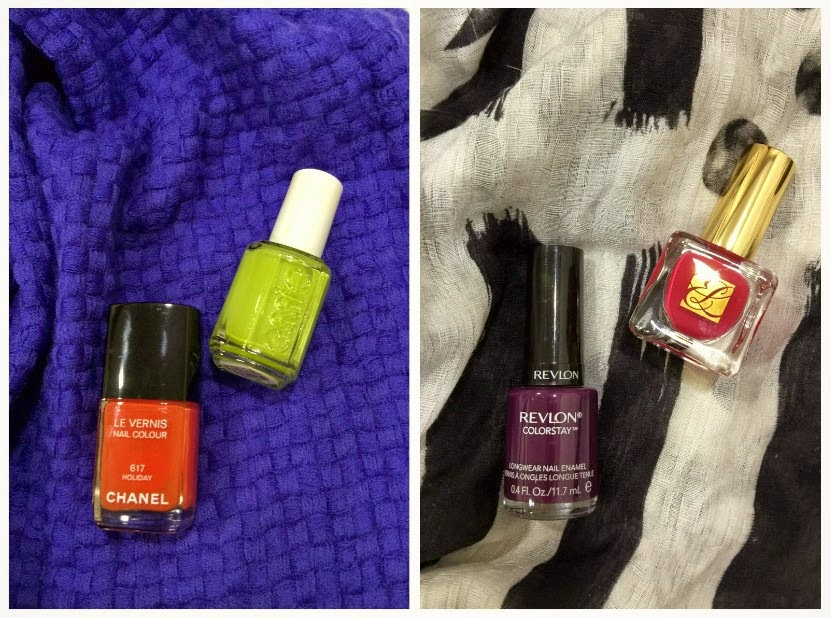 Which Nail Polish Color is Best for Which Scarf?