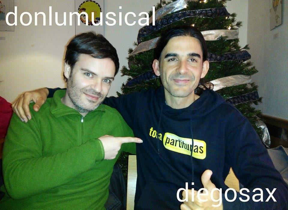 Luis DonluMusical y sus vídeos Locuras musicales ya fue presentado en tocapartituras.com