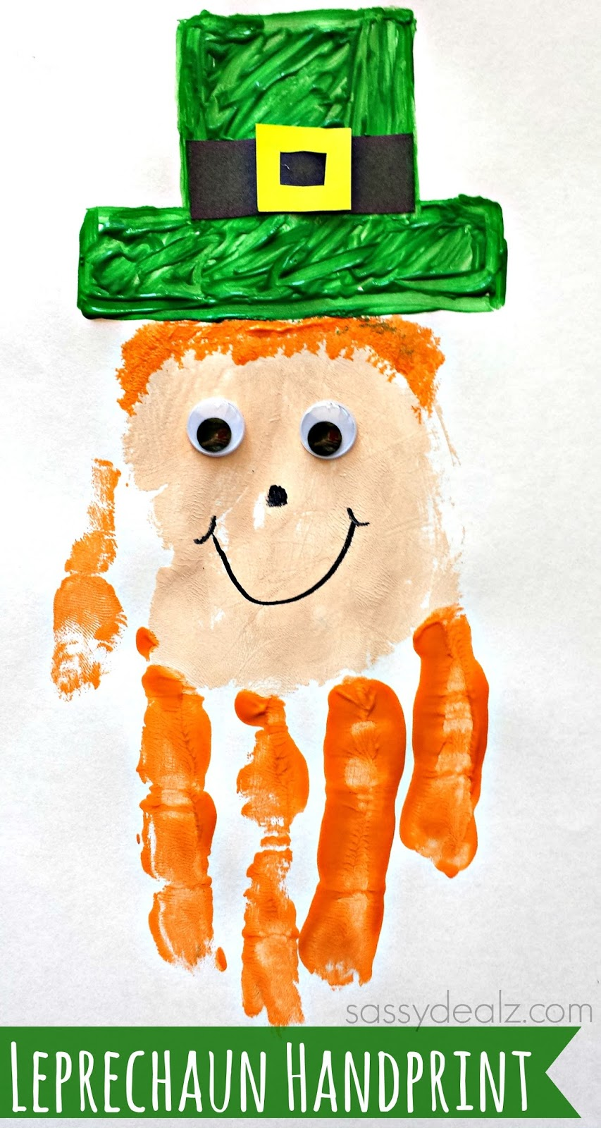 http://www.sassydealz.com/2014/01/leprechaun-handprint-craft-kids-st-patricks-day-idea.html