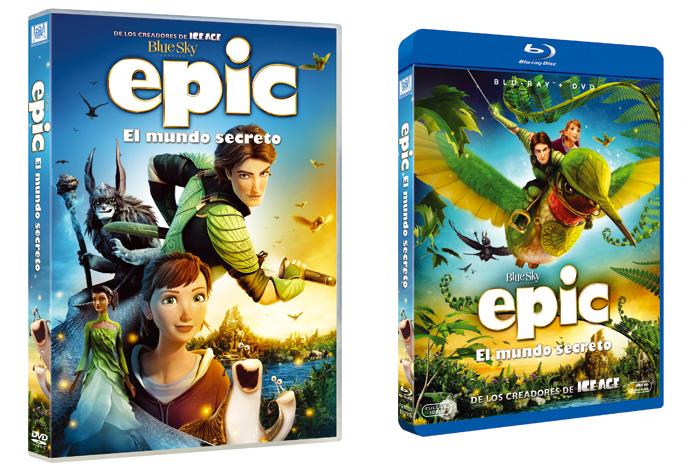 Epic llega en Blu-Ray y DVD estas Navidades