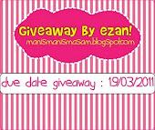 giveaway by ezan