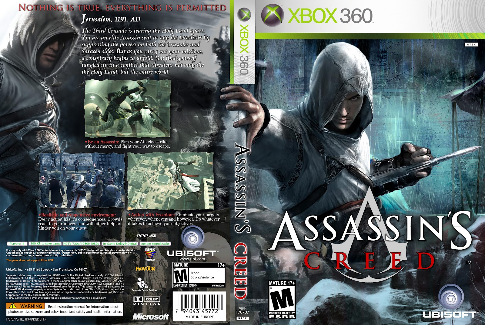 capas covers capas xbox360 assassin180s creed