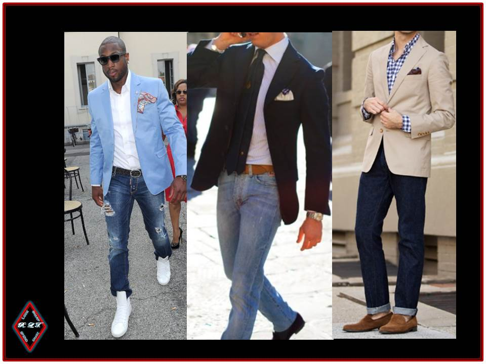 Look Sharp Spend Smart: JEANS   BLAZER ( a.k.a. THE TEXAS TUXEDO)
