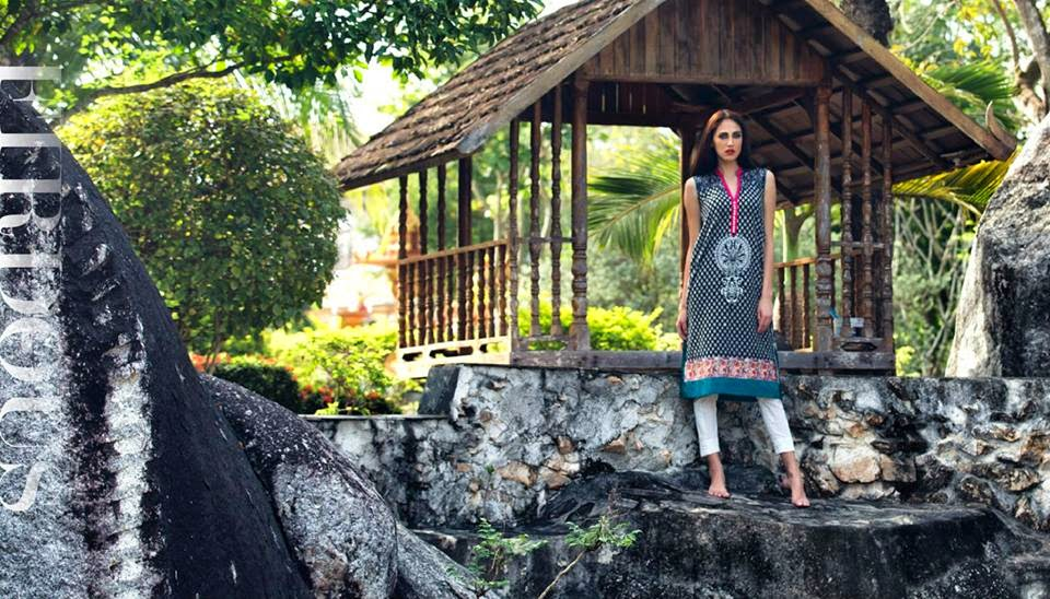 Firdous new kurti collection 2015