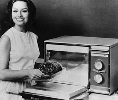Early microwave oven