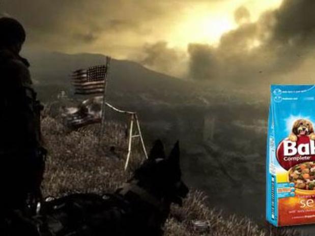 Novo XBOX ONE - Call Of Duty Ghosts cachorro humor