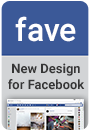 fave - new facebook design