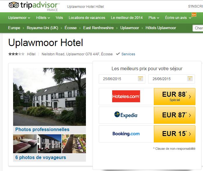 Upwalmoor Hotel