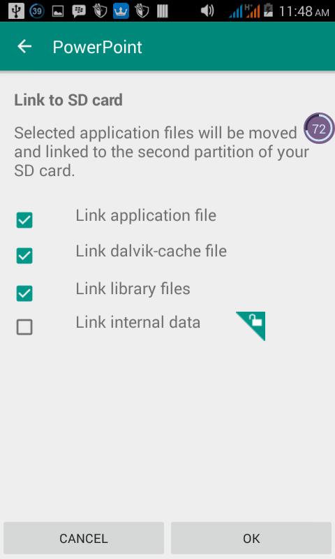 trik memperbesar penyimpanan android via link2sd
