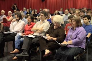 Jurat del Segon Concurs ARC de Rapsodes (Fotografia: Ferran d'Armengol)