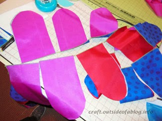 Chain sewing | Pouch pattern | Easy to Make