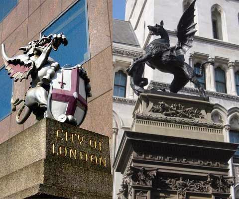 The Crown Empire and City of London Corporation