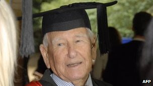 Allan Stewart, World's oldest graduate, Australian oldest graduate, Allan Stewart picture, oldest graduate in Southern Cross University, oldest graduate in Australia. Sydney man becomes world's oldest university graduate, World's oldest graduate with  Fourth degree, World's oldest university graduate 2012, oldest graduate in clinical science, oldest graduate in the world 2012