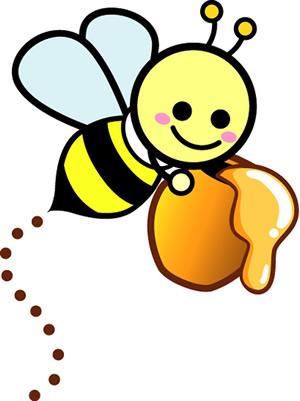 Gambar Kartun Lebah