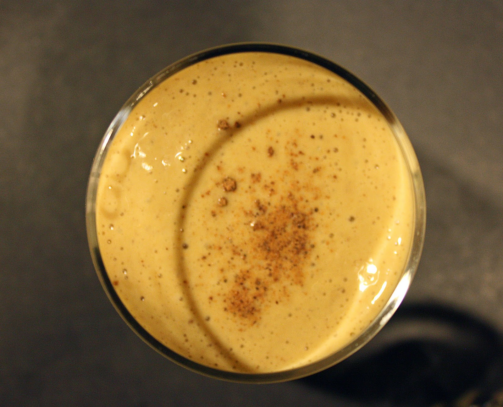 homeamde vegan gingerbread eggnog