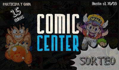 Sorteo Comic Center