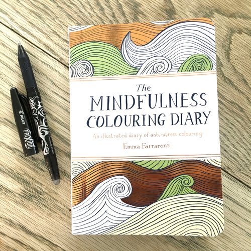 OWN THE MINDFULNESS COLOURING DIARY