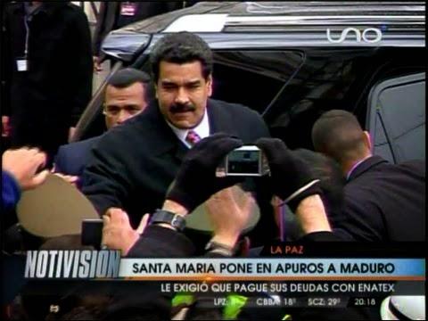 Diputado Santamaría exige al Presidente Maduro cancele deuda con Enatex.