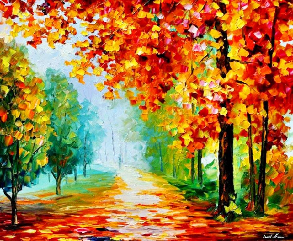 Pintura moderna y fotograf a art stica paisajes modernos - Pintura para suelos de garaje ...