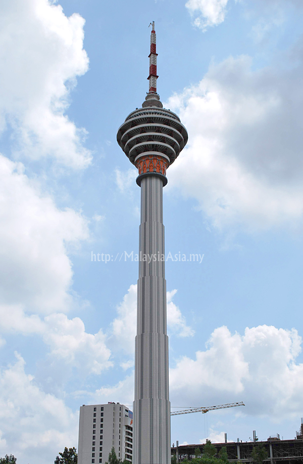 KL Tower Picture made from Lego BricksKl Tower