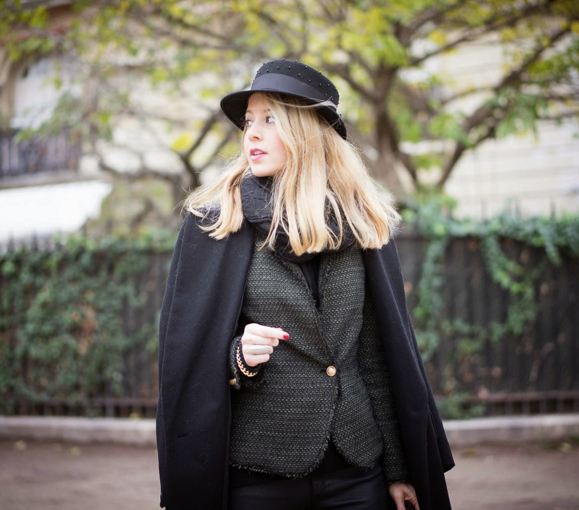 rag and bone, hat, blk dnm, chanel, hermès, eiffel tower, paris, streetstyle, pardonmyobsession