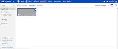 skydrive en outlook