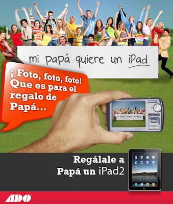 premios ipad2 concurso ADO papá papa dia del padre Mexico 2011