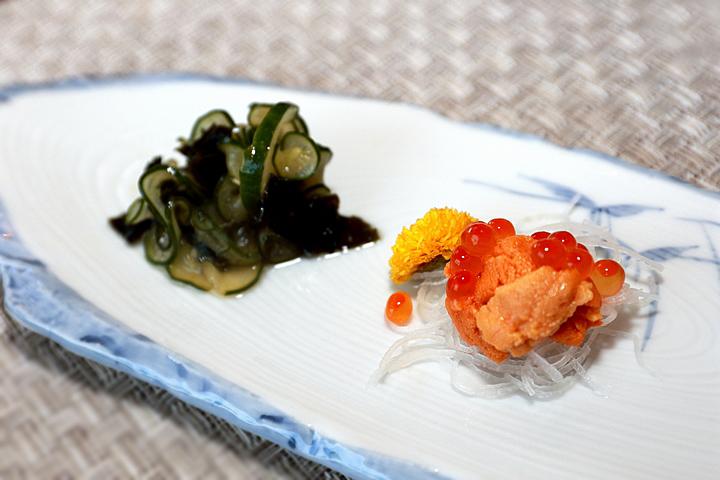龍鮨处職人すし日本料理-珍味二皿