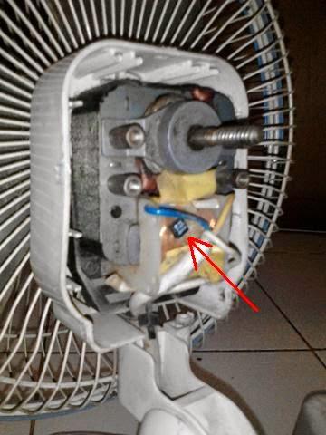 Memperbaiki Kipas Angin Yang Tidak Bisa Berputar