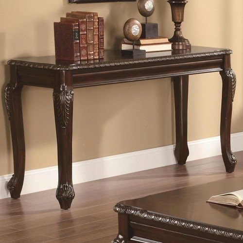 109ccc solid wood sofa table with storage space