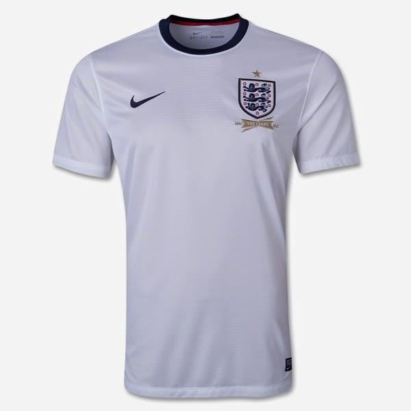 Kostum Timnas Inggris Piala Dunia 2014