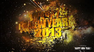 Kartu Ucapan Selamat Tahun Baru 2013