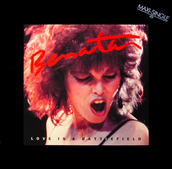 PAT BENATAR - Love Is A Battlefield (12 Disco Maxi) 1983 pop rock synth-pop 80s Out-Of-Print RARE!