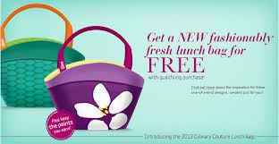 Delicious Rewards lunch tote offer