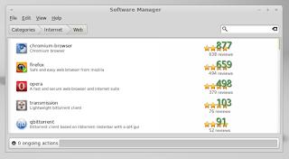 Szoftverközpont Linux Mint