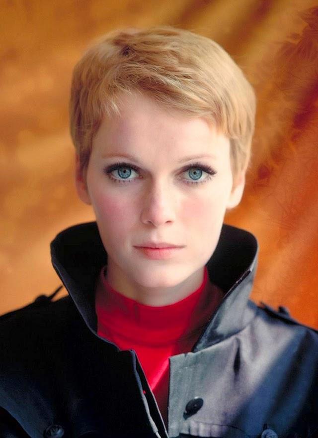 30 Beautiful Portraits of Mia Farrow With Pixie Haircut in ... | 640 x 880 jpeg 67kB