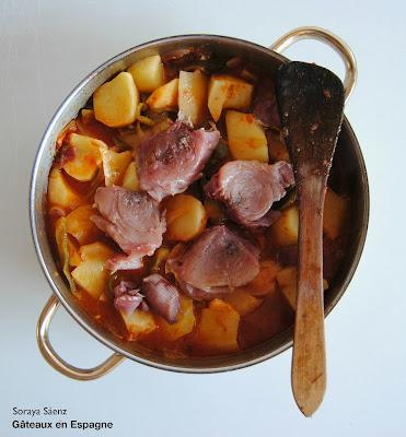marmite de thon recette espagnole