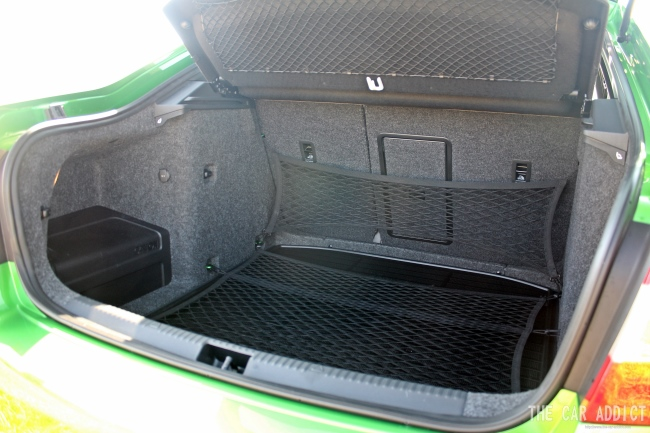 Skoda Octavia RS Trunk