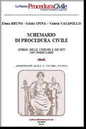 SCHEMARIO DI PROCEDURA CIVILE (Riti – Udienze – Formule), 2014