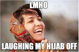 lmho laughing my hijab off