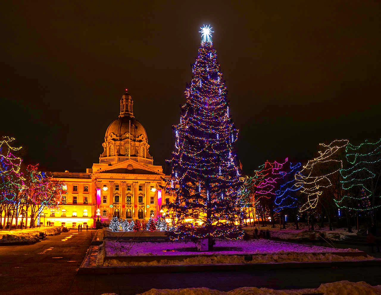 Image result for edmonton christmas lights edmonton legislature