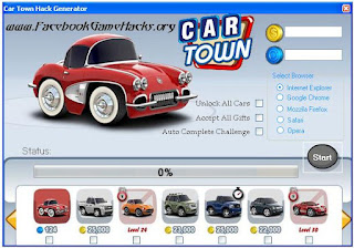 Car Town Promo Codes 2013 Generator Download