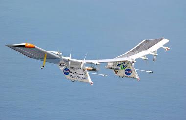 Avião Solar Aircraft