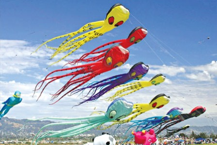 mostbeautifuldesktopwallpaper: Download Vibrant Kites Festival