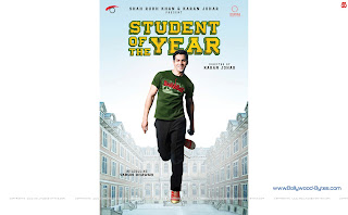 Hot Varun Dhawan Student Of The Year WideScreen HD Wallpaper