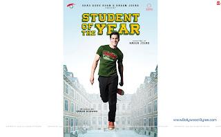 Hot Varun Dhawan Student Of The Year WideScreen HD Wallpaper